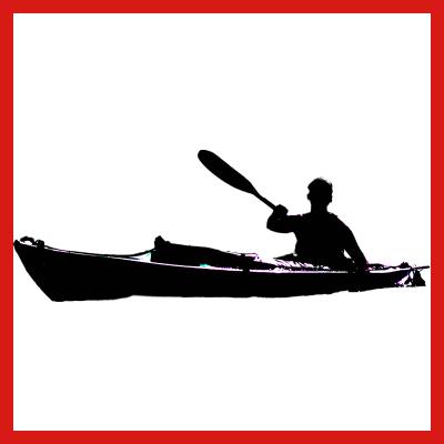 Faltboot schwarz